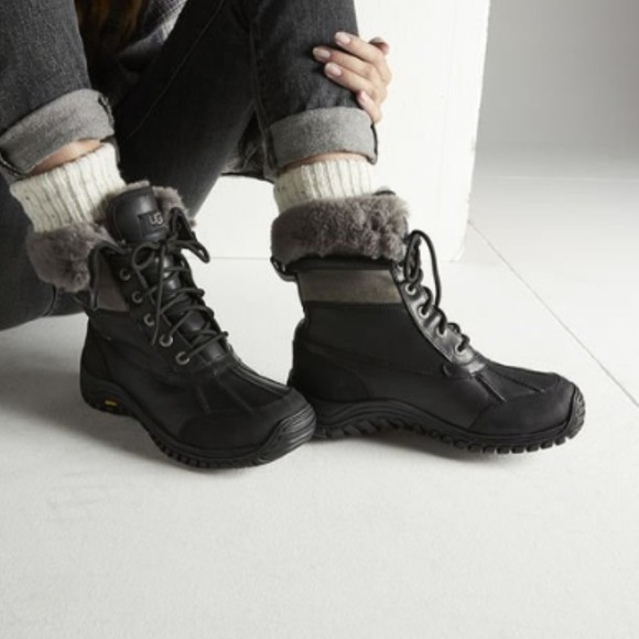 2f54fc78409 ugg adirondack black snow boot 8